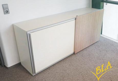 Schiebetüren-Büro Sideboard Expendo Line Exklusiv 200 cm 2 OH Auswahl Farbe Optionen