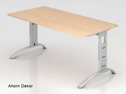 Schreibtisch Hammerbacher F-Serie 160 x 80 cm Ahorn Dekor