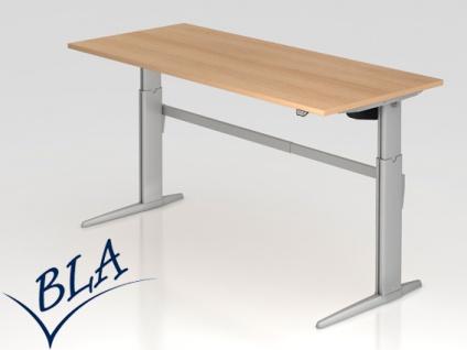 Schreibtisch Hammerbacher XE Elektro 180 x 80 cm Eiche Dekor
