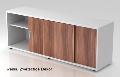 Schiebetürenschrank Hammerbacher Basic 1 1-5OH 160 x 60 x 40 cm weiss Zwetschge