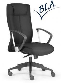 Bürosessel @ Office Concept Stoff schwarz schnell