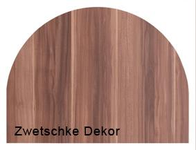 Anbauplatte Hammerbacher 80 cm rund XM-Serie Ahorn Dekor