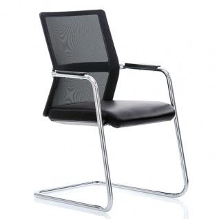 Freischwinger Konferenzsessel Rovo Chair XN 5450 2D-Netz Auswahl Farbe Optionen