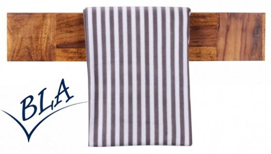 Handtuchhalter Amstyle Mumbai 80 x 15 x 10 cm Palisander Massivholz