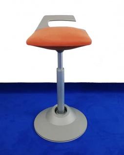Stehhilfe Aeris Moveman New terracotta Gestell silber-grau