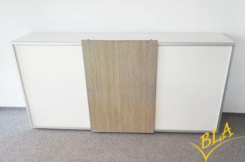 Schiebetüren-Büro Sideboard Expendo Line Exklusiv 240 cm 3 OH Auswahl Farbe Optionen