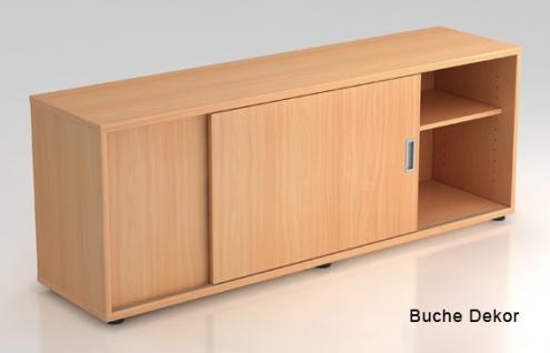 Schiebetürenschrank Hammerbacher Basic 1 1-5OH 160 x 60 x 40 cm Buche Dekor