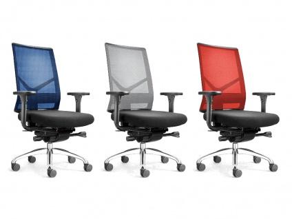 Bürostuhl Löffler Figo FG Netz Ergo Top Auswahl Farbe Optionen