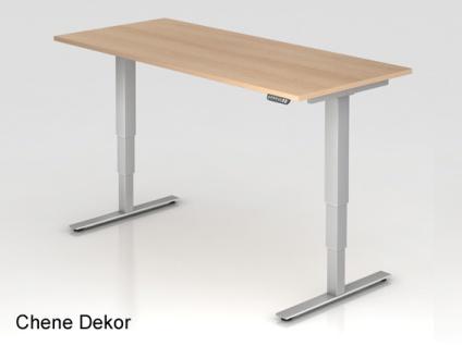 Schreibtisch Hammerbacher XD-Serie Elektro 200 x 100 cm Eiche Dekor