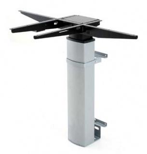 Tischgestell elektrisch höhenverstellbar CNS Elektro 2 Single Wand silber