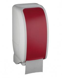 Toilettenpapierspender Metzger Cosmos weiss rot