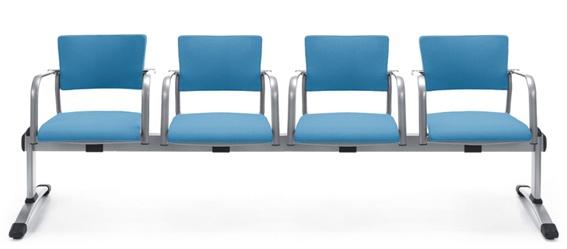 Besucherbank Profim Kala 570 4-Sitzer Auswahl Farbe Optionen