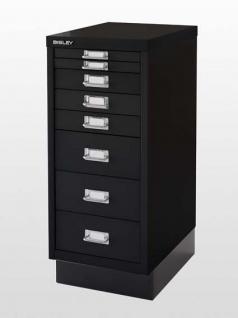 Schubladensideboard Bisley Lahr 8 Schubladen 92 x 181 x 40 cm Auswahl Farbe Optionen