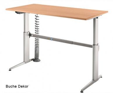 Schreibtisch Hammerbacher XE Elektro 160 x 80 cm Buche Dekor