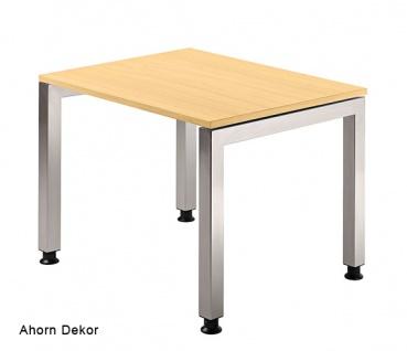 Schreibtisch Hammerbacher J-Serie 80 x 80 cm Ahorn Dekor