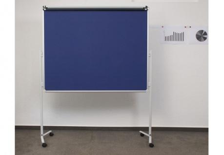 Präsentationstafel Maul Solid Pinnwand Filz blau klappbar