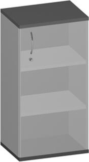 Büro Sideboard 1-türig Pendo Vari Edo 3 OH 60 x 115 x 44 cm Auswahl Farbe Optionen
