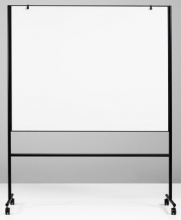 Whiteboard Lintex First Double Mobile 157 x 120-196 x 50 cm Farbwahl