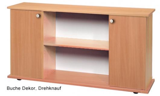 Büro Sideboard Hammerbacher Basic 2 OH 166 x 45 x 84 cm Buche Dekor