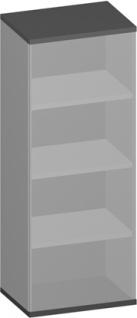 Büroregal Pendo Vari Edo 4 OH 60 x 154 x 44 cm Auswahl Farbe Optionen