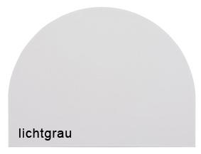 Anbauplatte HMB Rostock 80 cm rund Auswahl Farbe Optionen