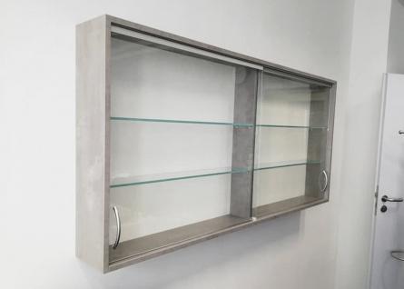 Schiebetüren-Glashängevitrine Pendo Vari Edo 2 OH 160 x 80 x 44 cm Auswahl