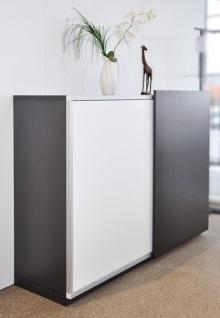Schiebetüren-Büro Sideboard Expendo Line Exklusiv 200 cm 3 OH Auswahl Farbe Optionen