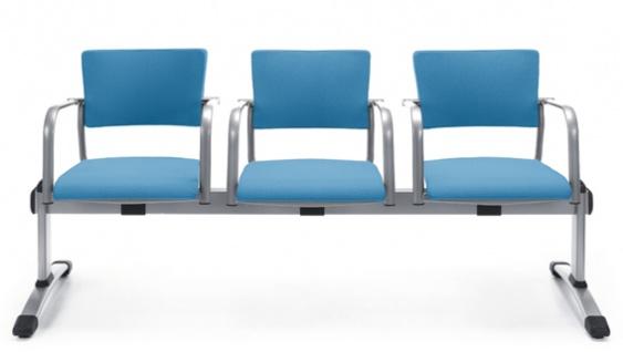 Besucherbank Profi M Kiala 570 3-Sitzer Auswahl Farbe Optionen
