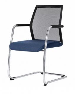 Freischwinger Besucherstuhl Rovo Chair R16 3450 Netz Auswahl Farbe Optionen