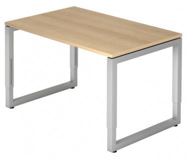 Schreibtisch Hammerbacher R-Serie 120 x 80 cm Eiche Dekor