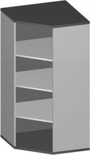 Eck Büroregal Pendo Vari Edo 4 OH 78 x 154 cm breit gerade Auswahl Farbe Optionen
