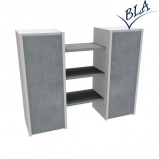 Büro Sideboard Pendo Multi Design 140 x 112 x 44cm 3 OH Auswahl Farbe Optionen