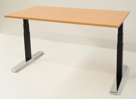 Schreibtisch elektrisch höhenverstellbar Pendo Polar Top 160 x 80 cm Auswahl Farbe Optionen