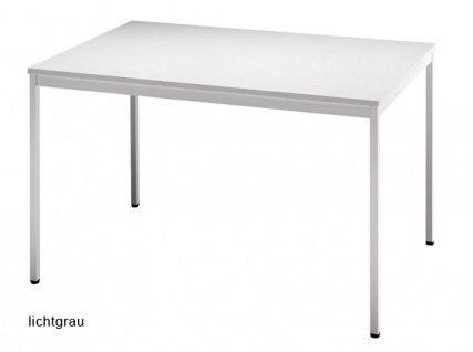 Konferenztisch Hammerbacher Villingen Classic 2 Quadrat 120 x 80 cm Farbauswahl