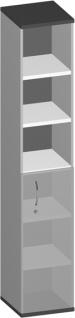 Regalschrank Pendo Vari Edo 3 zu 6 OH 40 x 224 x 44 cm Auswahl Farbe Optionen