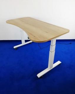 Schreibtisch elektrisch höhenverstellbar Pendo ATI Akzent 180 x 80 cm Auswahl Farbe Optionen