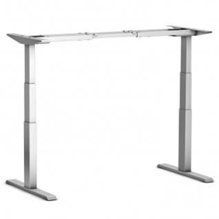 Tischgestell elektrisch höhenverstellbar ATI Akzent Elektro silber