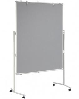 Präsentationstafel Maul Pro Pinnwand Textil grau