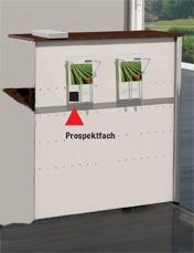 Empfangstheke Theo Kerkmann Kempten gerade Anbau-Element Auswahl Farbe Optionen