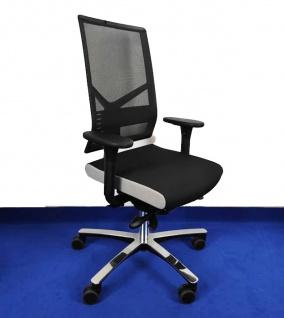 Bürostuhl Löffler Figo FG Edition by BLA Netz Ergo Top Auswahl Farbe Optionen