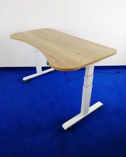 Schreibtisch elektrisch höhenverstellbar Pendo ATI Akzent 200 x 80 cm Auswahl Farbe Optionen