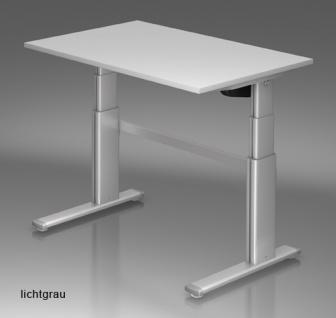 Schreibtisch elektrisch höhenverstellbar Hammerbacher Maximal 120 x 80 cm Auswahl Farbe Optionen