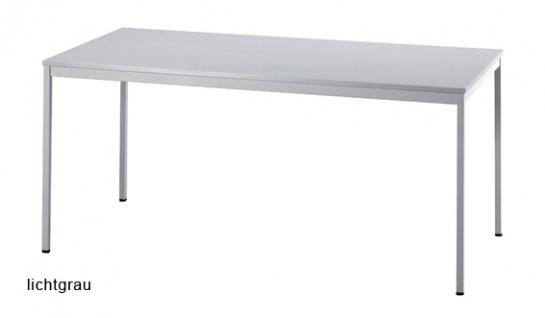 Konferenztisch Hammerbacher Villingen Classic 2 Quadrat 160 x 80 cm Farbauswahl