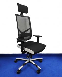 Bürostuhl Löffler Figo FG BLA-Edition Netz KS Ergo Top Auswahl Farbe Optionen