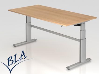 Schreibtisch elektrisch höhenverstellbar Hammerbacher Maximal 200 x 100 cm Auswahl Farbe Optionen