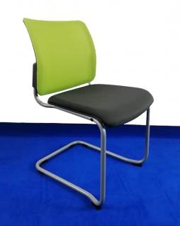 Freischwinger Konferenzstuhl Grammer Passu VP Netz Auswahl Farbe Optionen