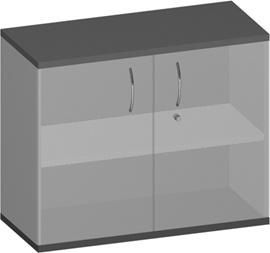Sideboard 2-türig Pendo Vari Edo 2 OH 100 x 80 x 44 cm Auswahl Farbe Optionen