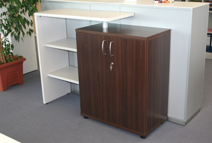Büro Sideboard Kombination Pendo Fox 140 bis 180 x 44 x H 108 cm 2-5 OH Auswahl Farbe Optionen