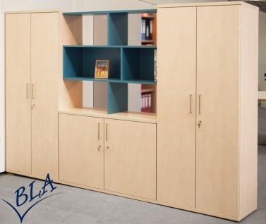 Büro Schrankwand Pendo Vari Edo 280 x 189 x 44 cm 5 OH Auswahl Farbe Optionen