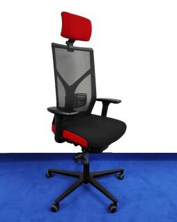 Bürostuhl Rovo Chair R16 3040 Kopfstütze Netz Ergo Balance Auswahl Farbe Optionen